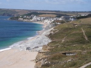 Porthleven from Penrose Farm